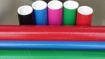 Mailing Tubes in Custom Colors and Sizes Available